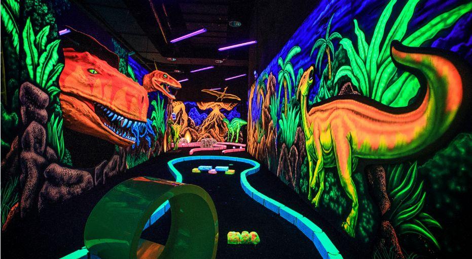 全息投影恐龙乐园打造
