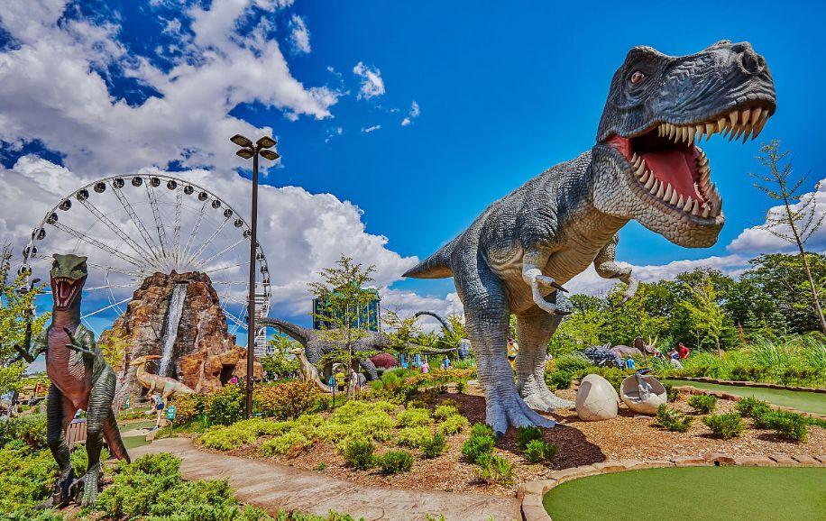 恐龙乐园打造