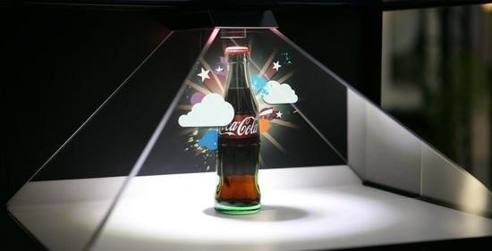 360度全息展柜展示