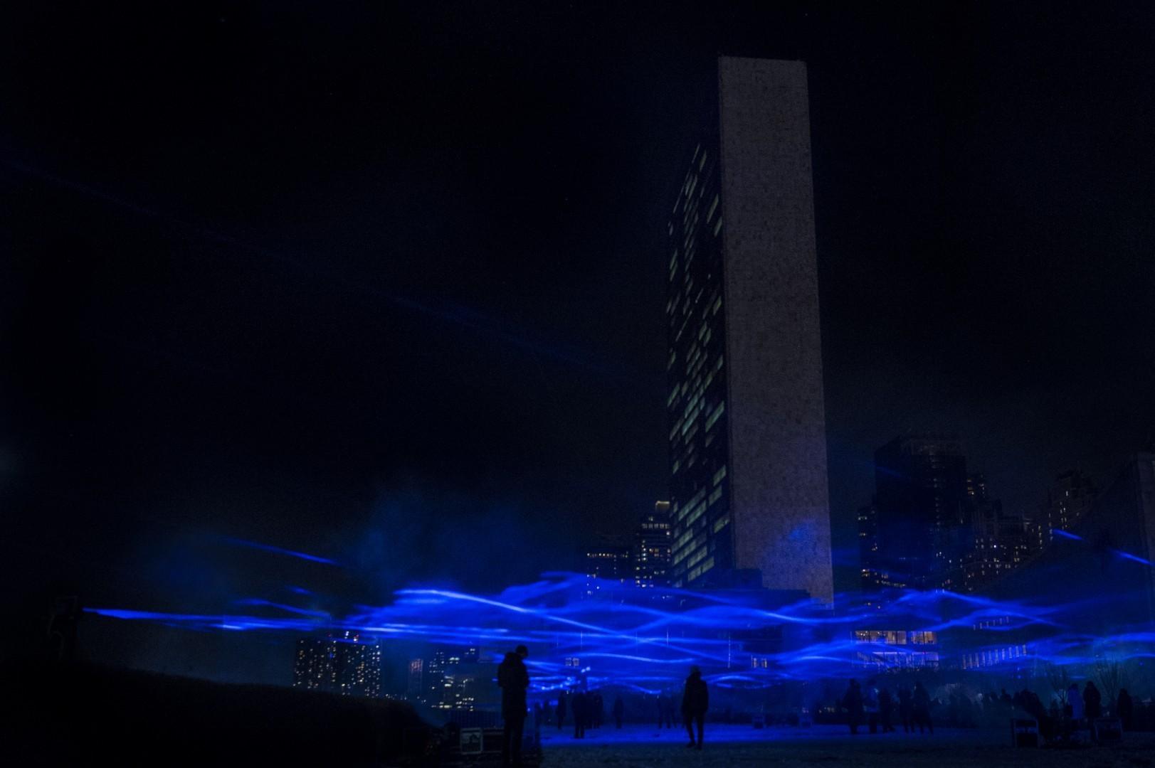 城市互动投影